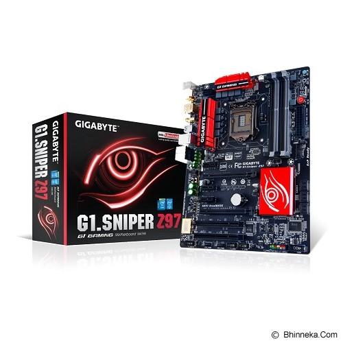 GIGABYTE Motherboard Socket LGA1150 [G1.Sniper Z97] - Motherboard Intel Socket LGA1150