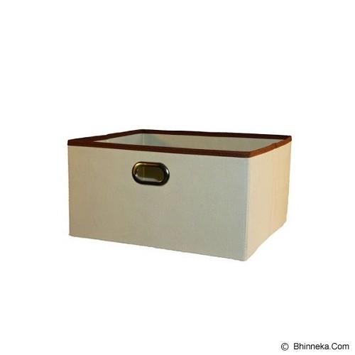 FUNIKA Non Woven Storage Bin Organiser Set of 5 [13162IV] - Ivory - Container