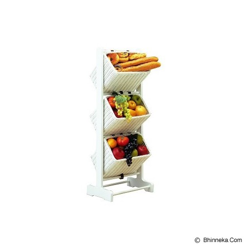 THE OLIVE HOUSE Vegetable Rack 3 Drawer - Rak Serbaguna