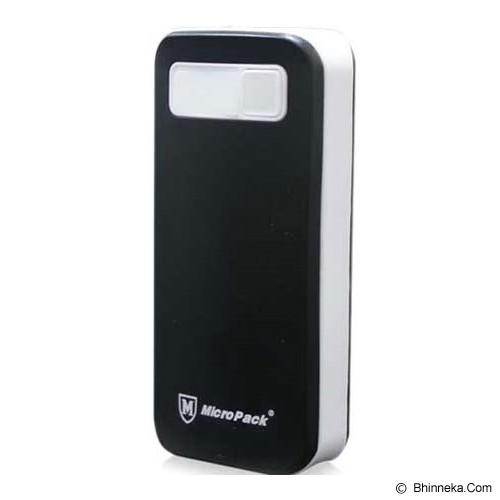 MICROPACK Powerbank 6000mAh [P6000] - Black - Portable Charger / Power Bank