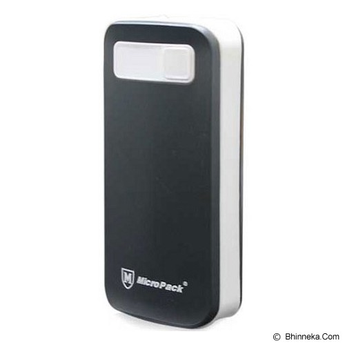 MICROPACK Powerbank 6000mAh [P6000] - Grey - Portable Charger / Power Bank