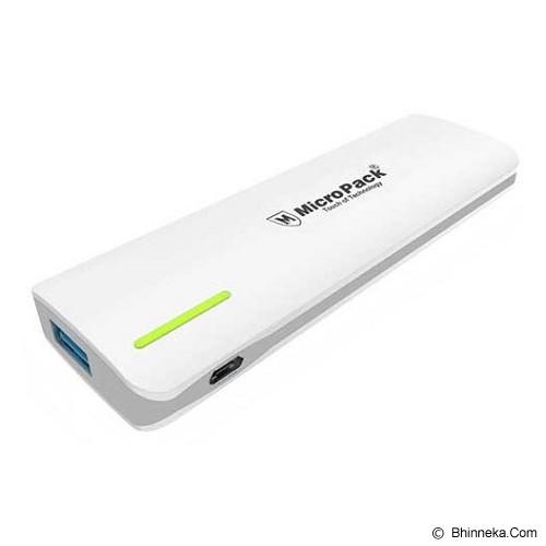 MICROPACK Powerbank 5000mAh [P520PS] - Grey - Portable Charger / Power Bank