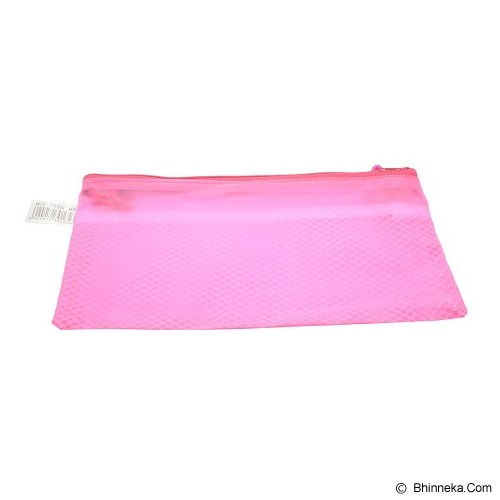JIAN SHENG Zipper Pocket Color 11cm [MS753-B6] - Pink (V) - Zipper Pocket