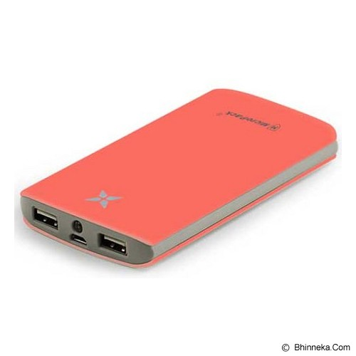MICROPACK Powerbank Full Protection 8000mAh [P8000P] - Orange - Portable Charger / Power Bank