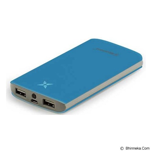 MICROPACK Powerbank 8000mAh [P8000P] - Blue - Portable Charger / Power Bank