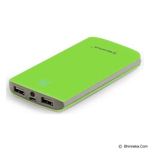 MICROPACK Powerbank 8000mAh [P8000P] - Green - Portable Charger / Power Bank