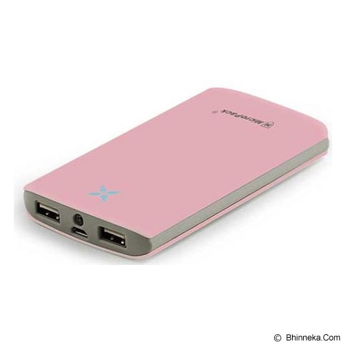 MICROPACK Powerbank 8000mAh [P8000P] - Pink - Portable Charger / Power Bank