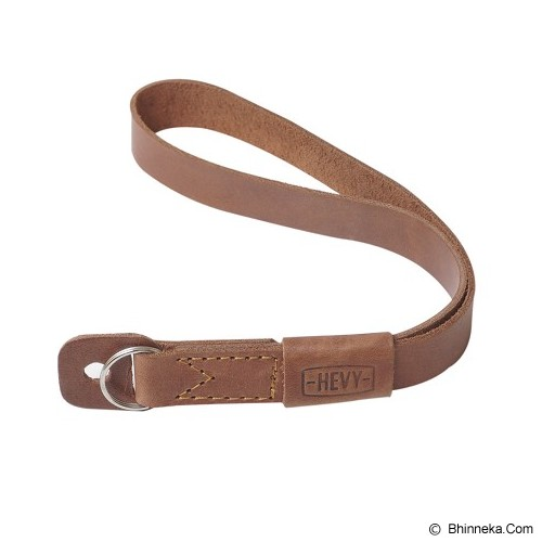 HEVY Strap Kulit Adjustable Untuk Kamera Mirrorless - Coklat - Camera Strap