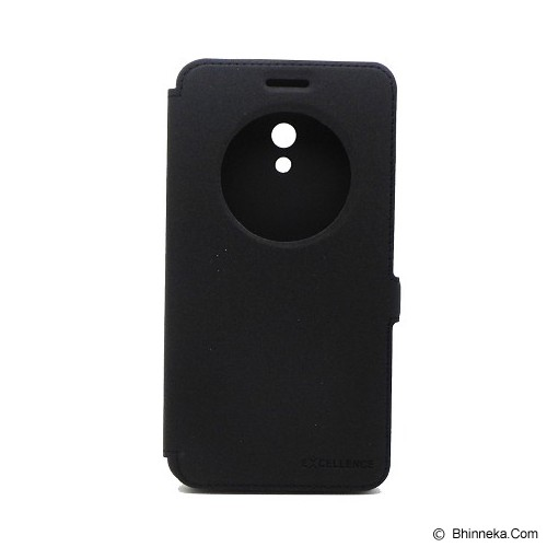 EXCELLENCE Flip Cover Eternity for Asus Zenfone 6 [ALCASZF6FEVE] - Black - Casing Handphone / Case