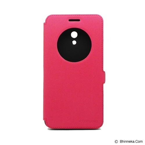 EXCELLENCE Flip Cover Eternity for Asus Zenfone 6 [ALCASZF6FEVE] - Red - Casing Handphone / Case
