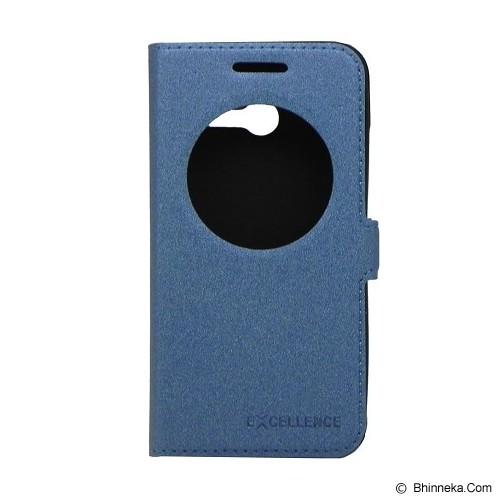 EXCELLENCE Flip Cover Eternity for Asus Zenfone 4 [ALCASZF4FEVE] - Blue - Casing Handphone / Case