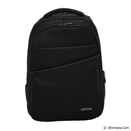 NAVY CLUB Ransel Laptop [8237] - Black - Notebook Backpack