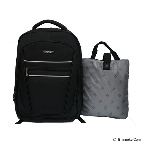 REAL POLO Backpack [5788] - Black - Notebook Backpack