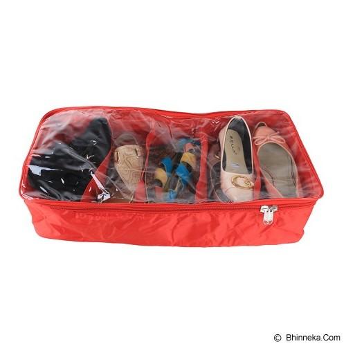 RADYSA Shoe Case Organizer 5 Partition - Green - Rak Sepatu