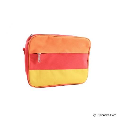 RADYSA Lunch Bag Organizer - Orange/Red/Yellow - Cooler Box