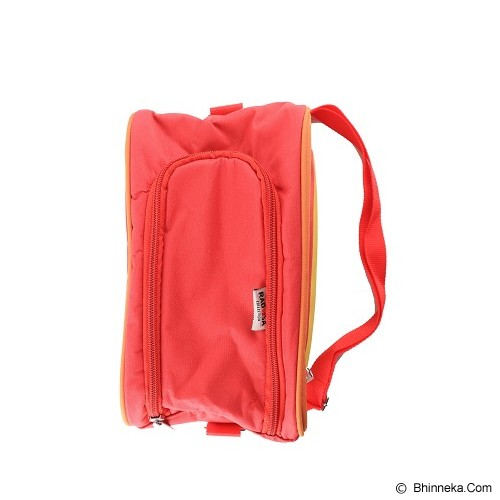 RADYSA Lunch Bag Organizer - Orange/Red/Yellow - Cooler Box