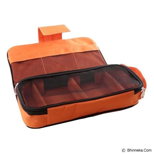 RADYSA Gadget Charger Organizer - Orange - Travel Bag