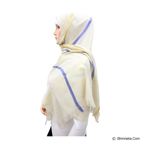 VSTAR Glittery Pashmina Three Colors  - Cream (V) - Pasmina