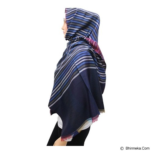 VSTAR Line Pashmina Colors - Blue Brown  (V) - Pasmina