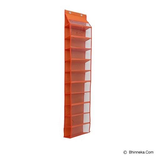 RADYSA Hanging Shoe Organizer - Orange - Rak Sepatu