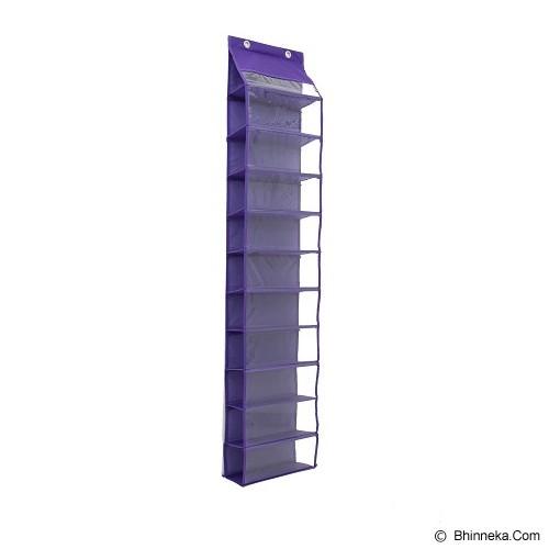 RADYSA Hanging Shoe Organizer - Purple - Rak Sepatu
