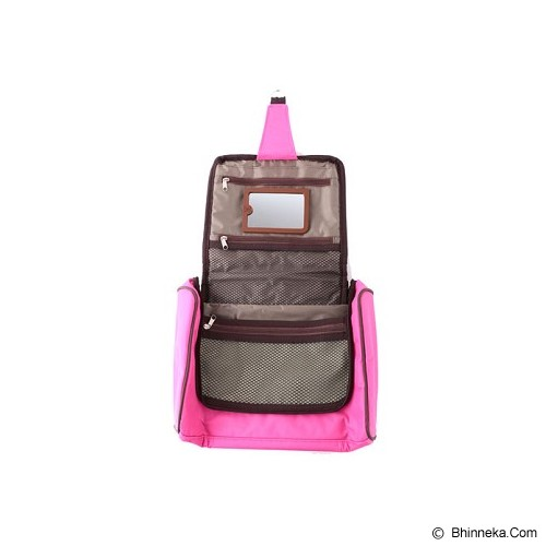 RADYSA Toiletries Bag Organizer - Magenta - Tas Kosmetik / Make Up Bag