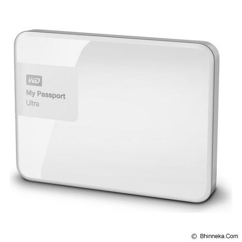 WD My Passport Ultra New 500GB USB 3.0 [WDBWWM5000AWT-PESN] - White - Hard Disk External 2.5 Inch