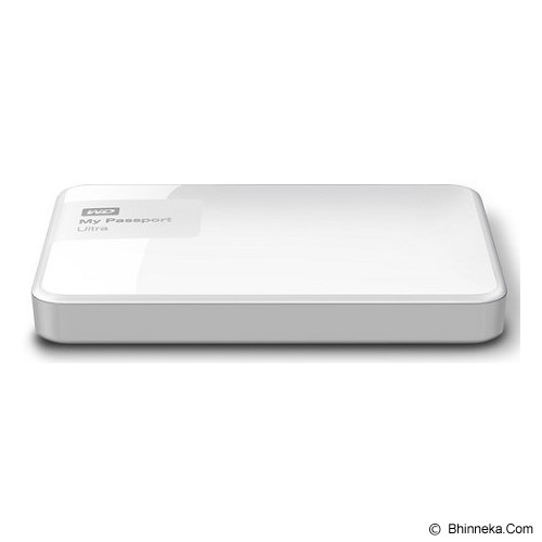 WD My Passport Ultra New 2TB USB 3.0 [WDBBKD0020BWT-PESN] - White - Hard Disk External 2.5 Inch