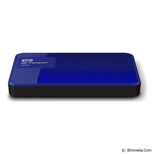WD My Passport Ultra New 3TB USB 3.0 [WDBBKD0030BBL-PESN] - Blue - Hard Disk External 2.5 Inch