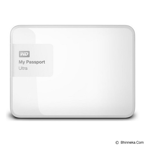 WD My Passport Ultra New 3TB USB 3.0 [WDBBKD0030BWT-PESN] - White - Hard Disk External 2.5 inch