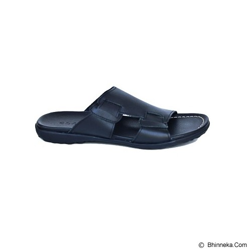 CLARITY Sandal Size 41 [BQ1167] - Black - Sandal Casual Pria