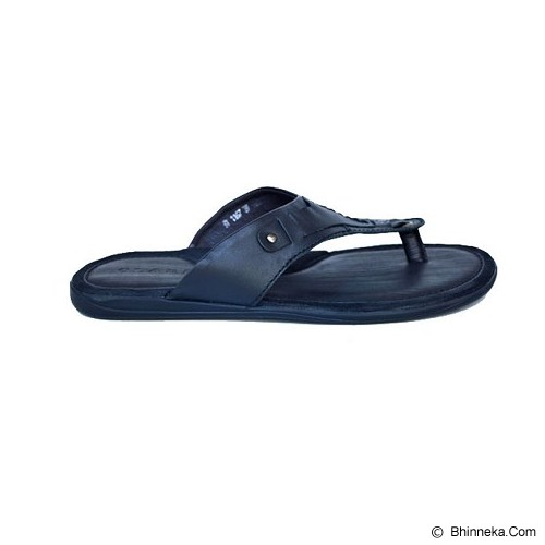 CLARITY Sandal Size 40 [BY1167] - Black - Sandal Casual Pria
