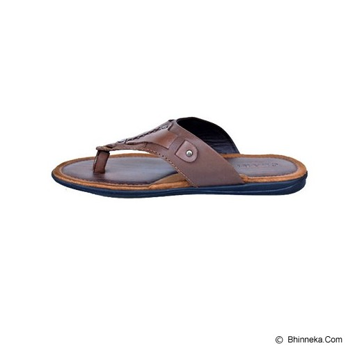 CLARITY Sandal Size 42 [BY1167] - Brown - Sandal Casual Pria