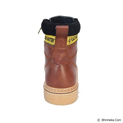BLACKMASTER Boot CAT Size 41 - Brown - Dress Boots Pria