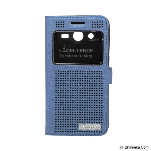EXCELLENCE Flip Cover Firefly for Samsung Galaxy Core 2 [ALCSAGC2FFVE08] - Blue - Casing Handphone / Case