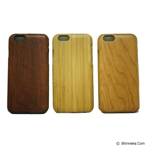 BERZET Slim Wooden Case for iPhone 6 - Rosewood Motif - Casing Handphone / Case