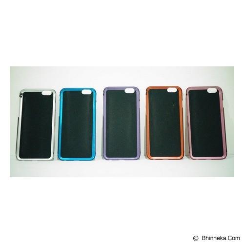 BERZET Ultra Slim Aluminium Case for iPhone 6 - Black - Casing Handphone / Case