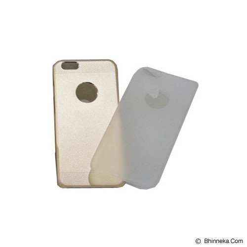 BERZET Ultra Slim 2 in 1 Hybrid for iPhone 6  - Gold - Casing Handphone / Case