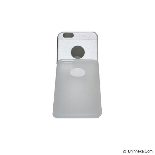 BERZET Ultra Slim 2 in 1 Hybrid for iPhone 6 - Silver - Casing Handphone / Case