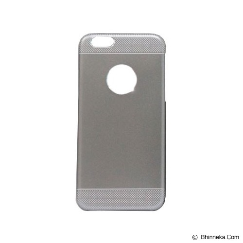 BERZET Ultra Slim 2 in 1 Hybrid for iPhone 6  - Grey Metalic - Casing Handphone / Case