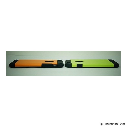STIGEN Slim Tough Armor Case for iPhone 6 - Black - Casing Handphone / Case