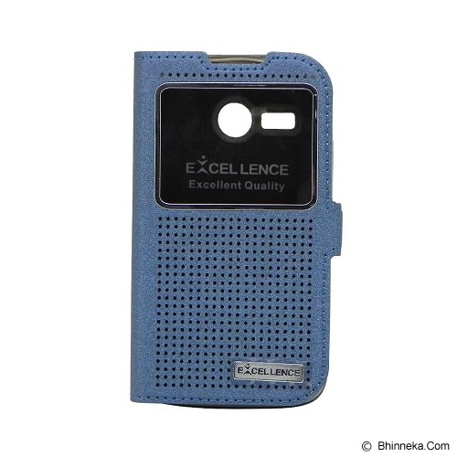EXCELLENCE Flip Cover Firefly for Lenovo A316 [ALCLNA31FFVE08] - Blue - Casing Handphone / Case