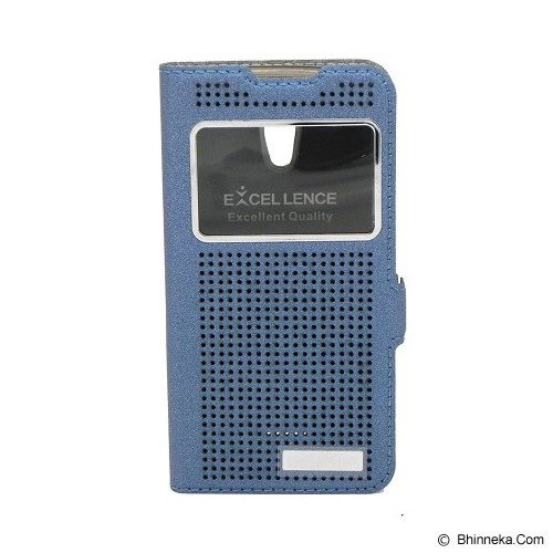 EXCELLENCE Flip Cover Firefly for Oppo Joy R1001 [ALCOPPJOFFVE08] - Blue - Casing Handphone / Case