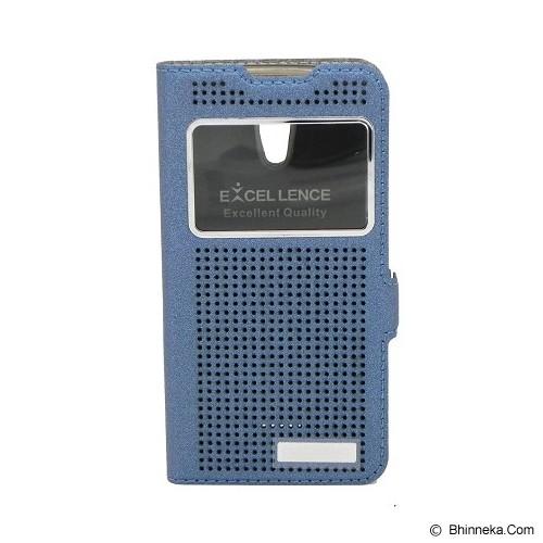 EXCELLENCE Flip Cover Firefly for Oppo Joy R1001 [ALCOPPJOFFVE08] - Blue - Casing Handphone / Case