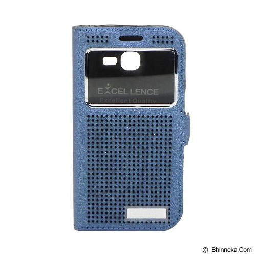 EXCELLENCE Flip Cover Firefly for Samsung Galaxy Star Pro S7262 [ALCSAGSPFFVE08] - Blue - Casing Handphone / Case