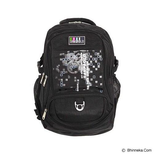 SAN PAOLO Tas Ransel [8911-19] - Black - Notebook Backpack
