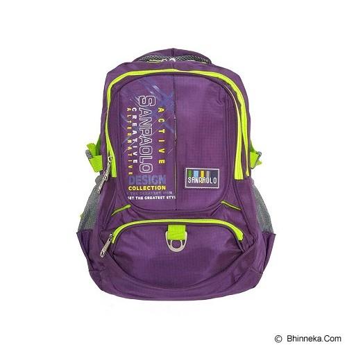 SAN PAOLO Tas Ransel [1960-19] - Purple - Notebook Backpack