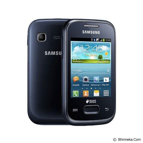 SAMSUNG Galaxy Young [GT-S6310] (Garansi Merchant) - Blue - Smart Phone Android