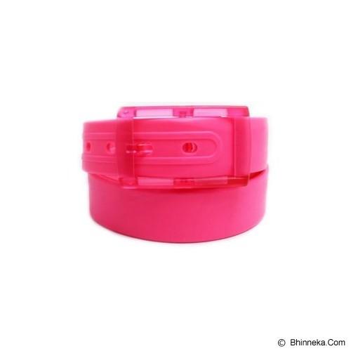 LTISHOP Silicon Belt [LD068] - Pink - Ikat Pinggang Wanita