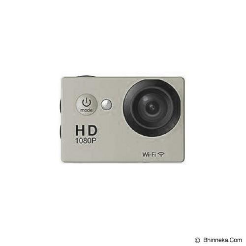 CALLIASTORE Sport Cam SJ4000 Wi-Fi OEM - Silver - Camcorder / Handycam Flash Memory